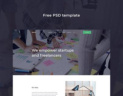 Apriori — Free PSD template