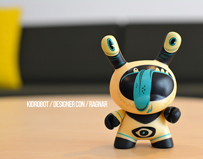 Kidrobot / Designer Con Dunny Design & Packaging