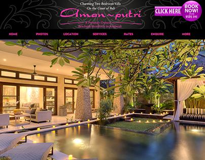 Aman~Putri Villa Seminyak - Bali