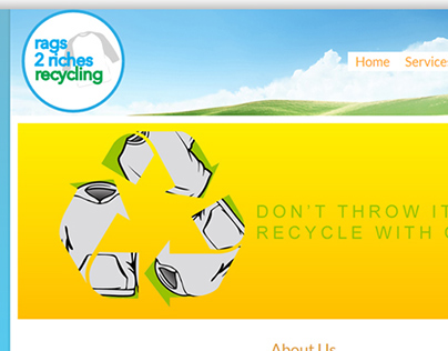 Rags 2 Riches Recycling Website