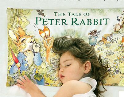 "Lady Bird ""Bedtime Story Pillow"""