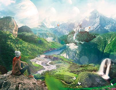Landscape - Photoshop Creative Magazine