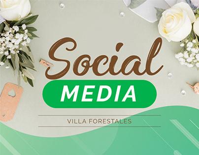 Social media - Villa Forestales