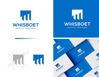 Whisboet Capital Partners logo design.
