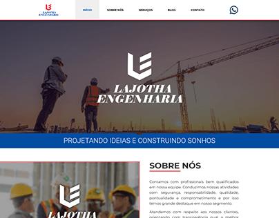 Lajotha Engenharia - Web Site