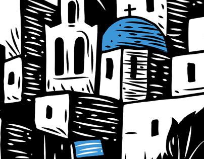 Stavros Festival Poster-Donoussa, Greece