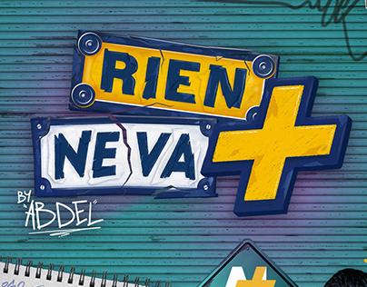 RIEN NE VA + Youtube show Branding