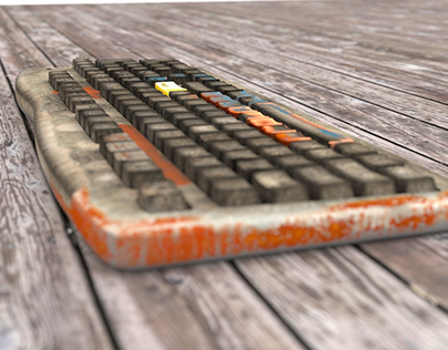 Rust keyboard