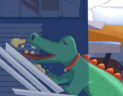 My little alligator