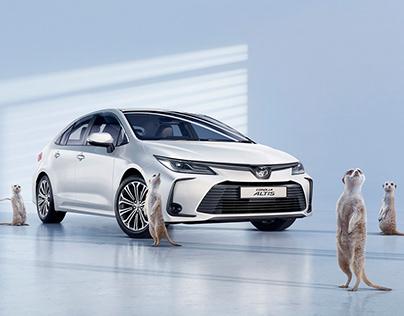 Toyota Altis CGI