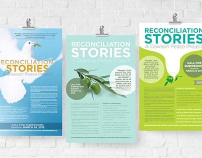 Dawson College Reconciliation Poster Design