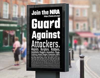 NRA: Guard against malice Campaign