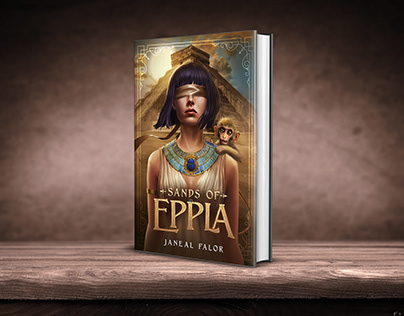 Sands of Eppla book cover design