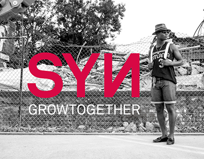 SYN »grow together«