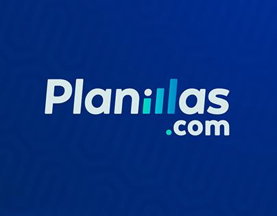 Planillas.com Brand Identity