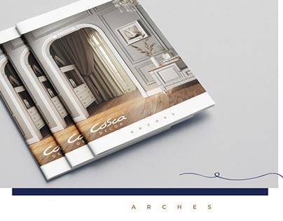 Catalog design for Cosca DECOR