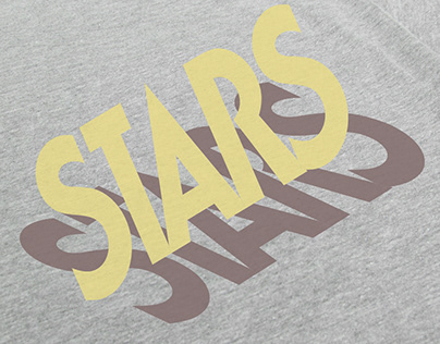 Various Band Merchandise Designs for STARS