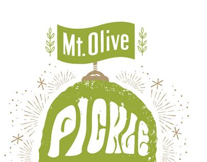 Mt. Olive Pickle Drop 2014 T-Shirt