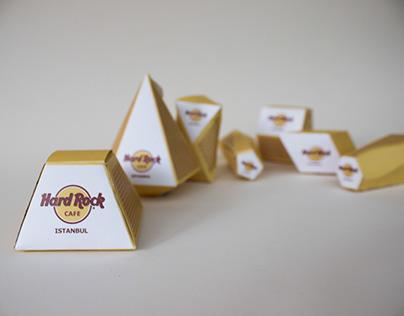 Hard Rock Cafe Istanbul Matchbox - Packaging Design