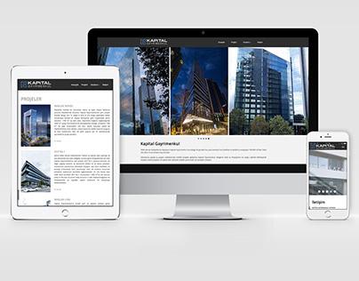 Kapital Gayrimenkul Web Sitesi