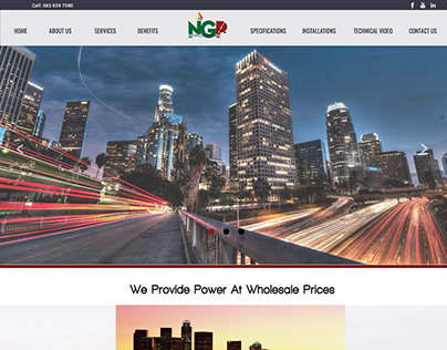 NGP Website Design