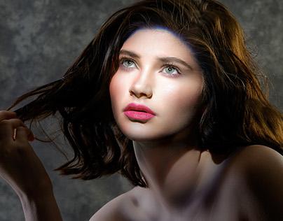 Morgan Hanephin Hair, Makeup, Spotlight Test