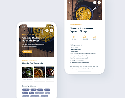 Gutsy Recipe App