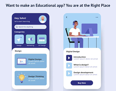 Want to make an Educational app?