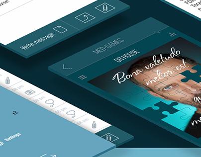 Design of medical application