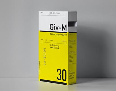 Giv-M / Donation box