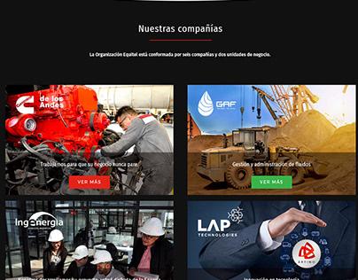 Diseño y desarrollo sitio web - WordPress
