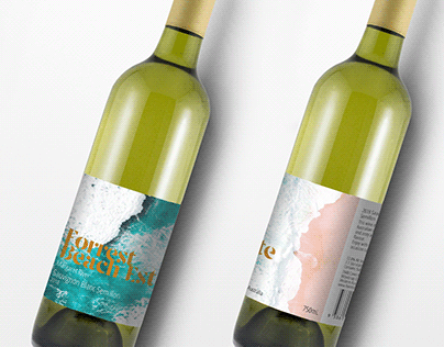 Wine bottle label redesign