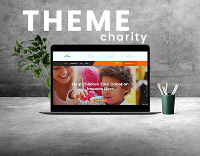 CHARITY WITH SHOP Web Theme