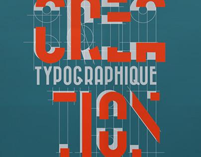 Affiche - Typographie