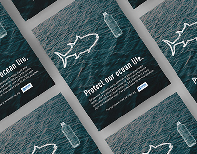 The Ocean and Plastics | Ad Campaign Concept