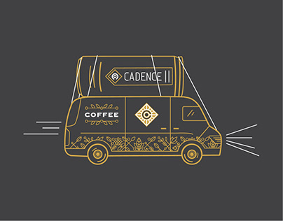 Cadence Cold Brew Coffee 2019 Tap Van Tour Shirts