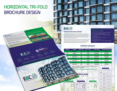 EBC - Logo & Bifold/Trifold Brochure Design