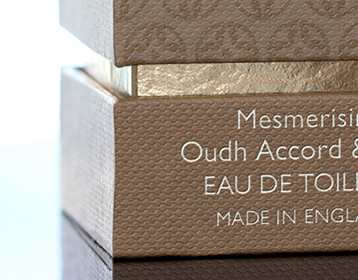 3D Molton Brown Oudh Accord & Gold - Packaging Imagery