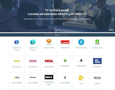 TV Online world