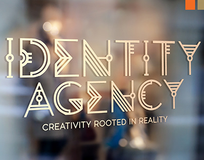 IDENTITY AGENCY: Type face and Color theme