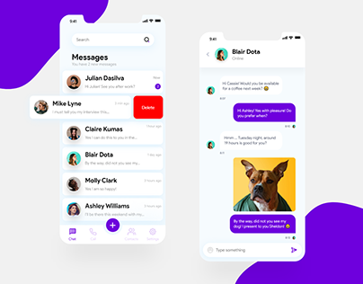 Message App for iOS