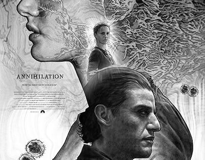 Annihilation alternative movie poster