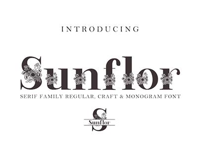 Sundlor-A New Dislay serif family font