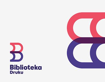 Biblioteka druku - brand