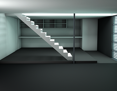 3D luxury loft