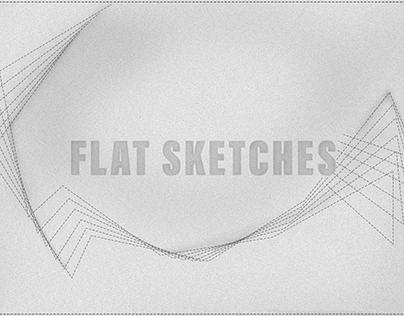 Technical Flat Drawings