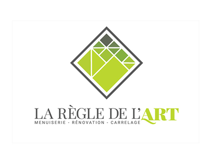 Logotype - La règle de l'art