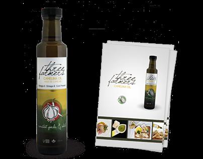 Three Farmers - Packaging & Brochure Design