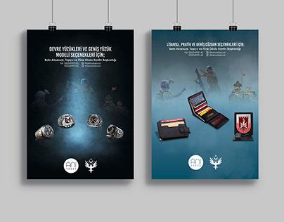 Anı Yüzük Poster Desing