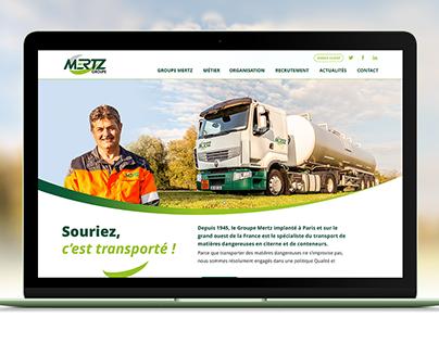 Mertz - Site internet